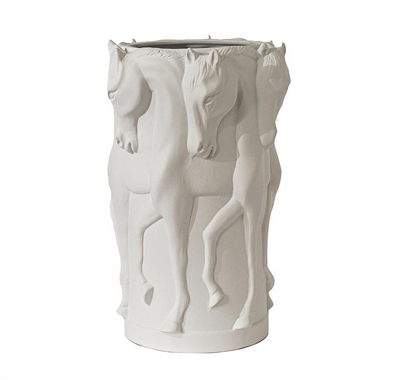 Adamsbro Ceramic Vase - White