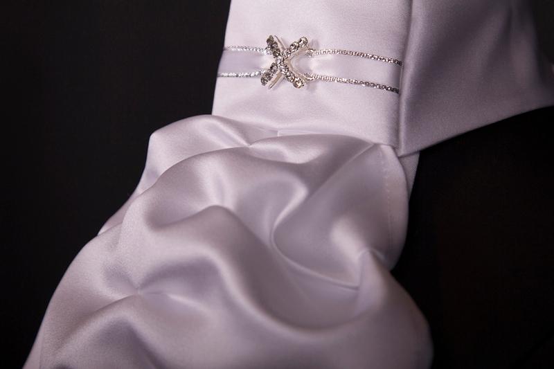 Stock tie Regency - Silver Cross