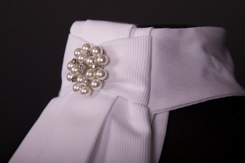 Stock tie Esteem - Pearls