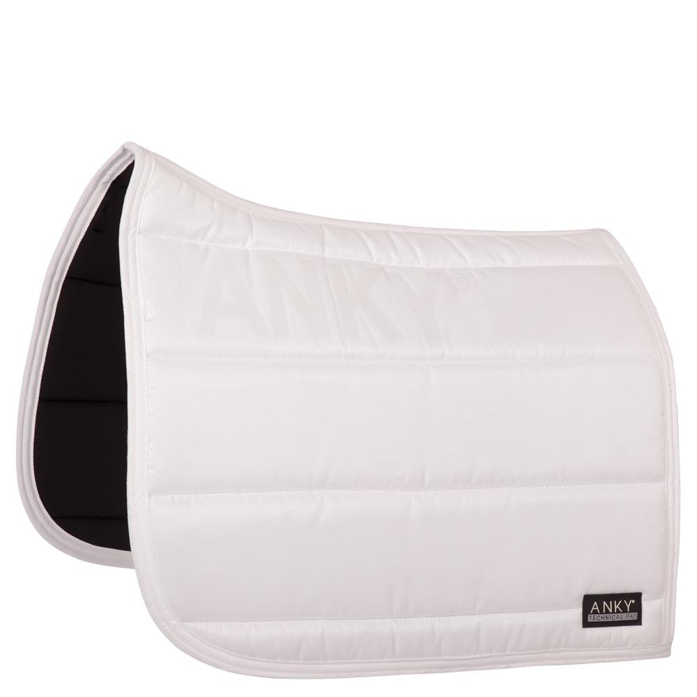 Dressurschabracke Basic - Weiß
