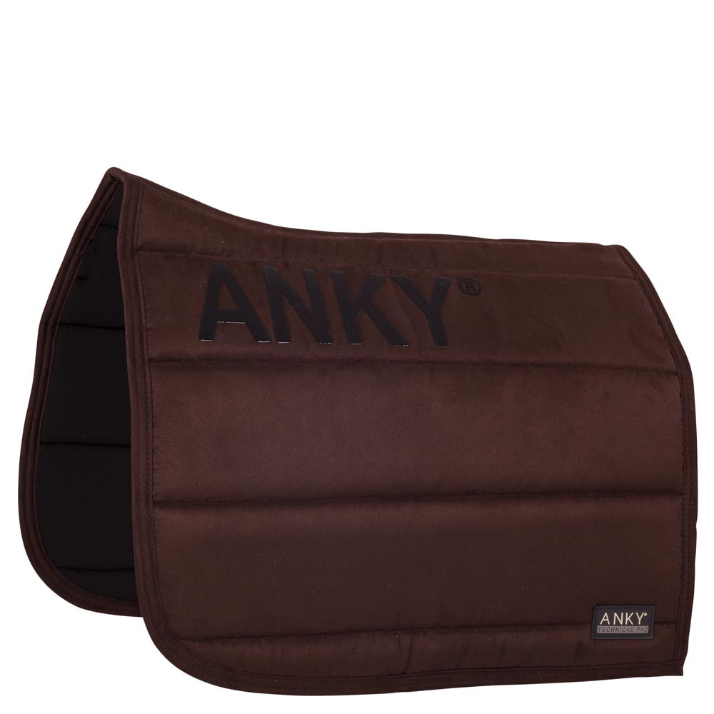Dressage saddle pad - Chocolate