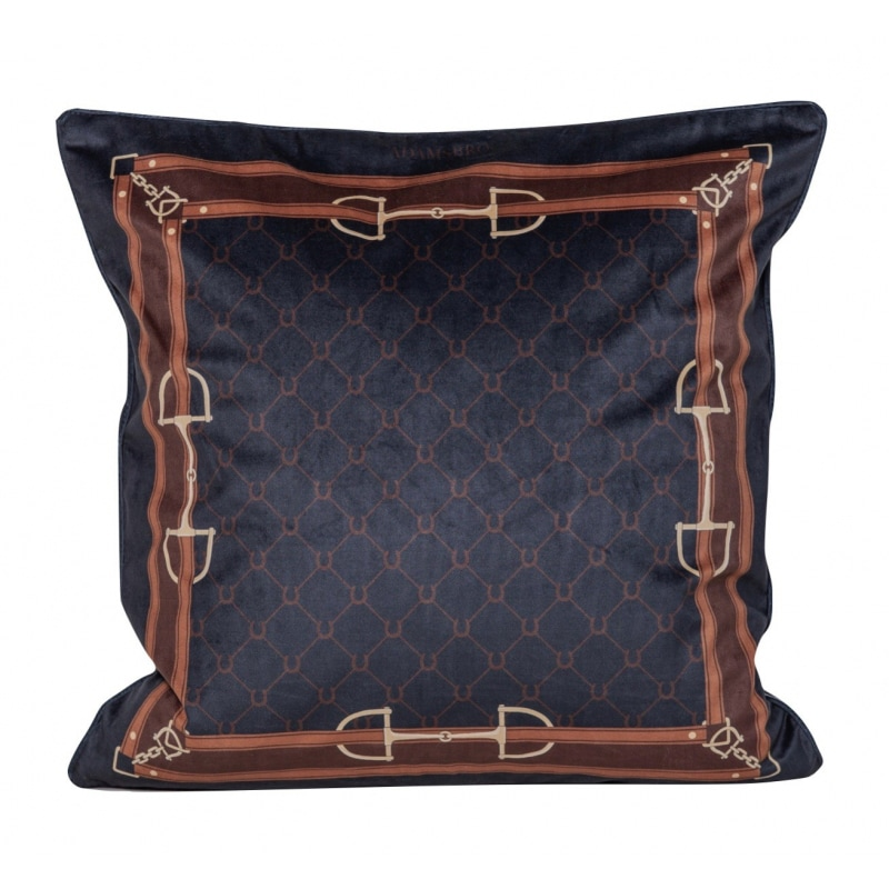 Cushion Velvet Equi Luxury - Navy