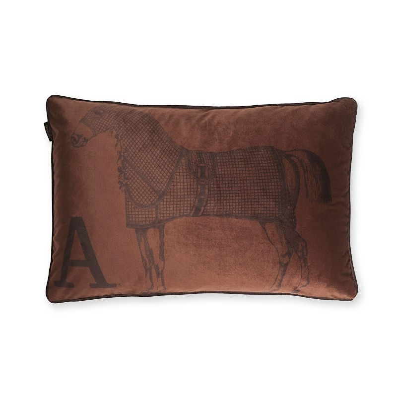 Cushion Horse - Cinnamon