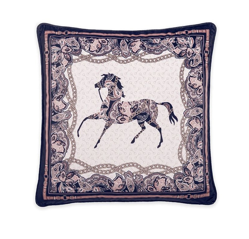 Cushion Arabic Horse - Black