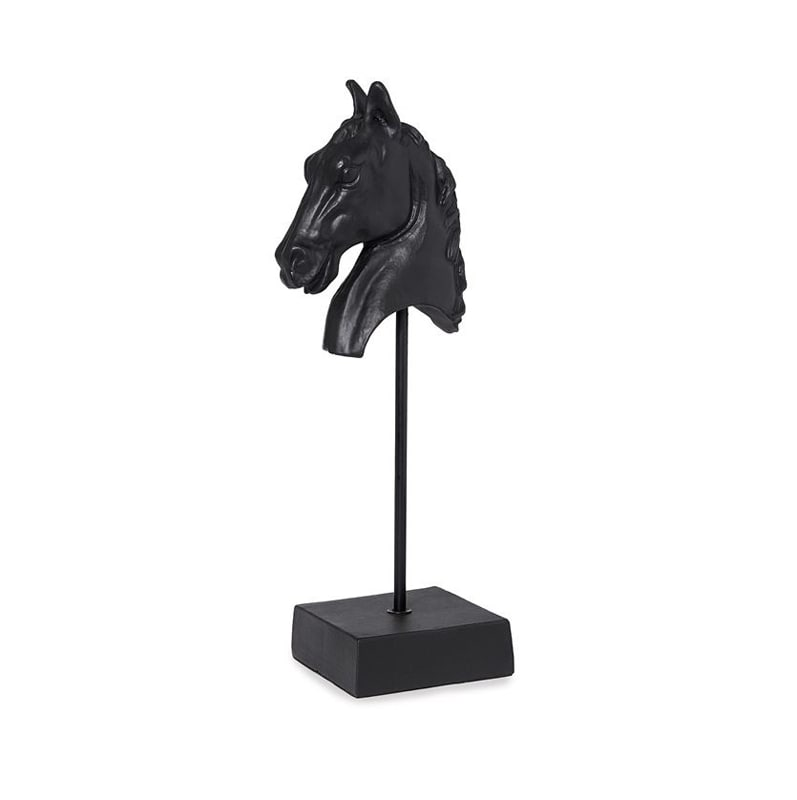 Horse statue - Black