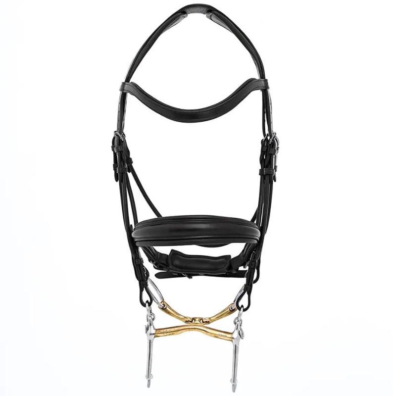 Double bridle Sandro - Black
