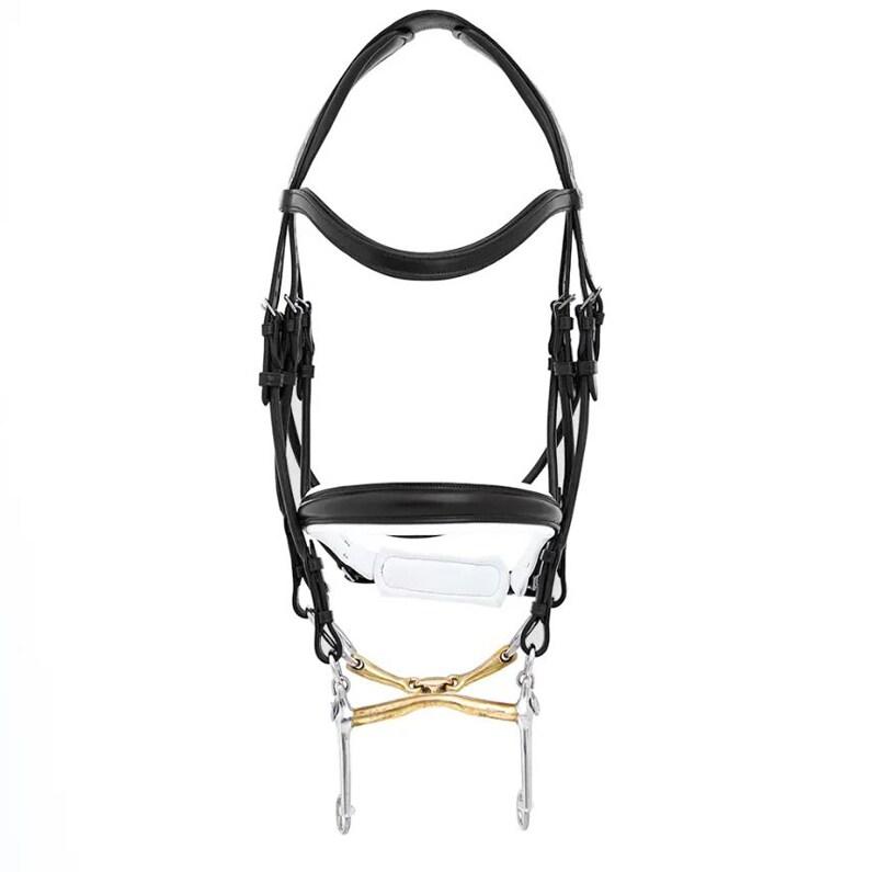 Double bridle Sandro - Black/White