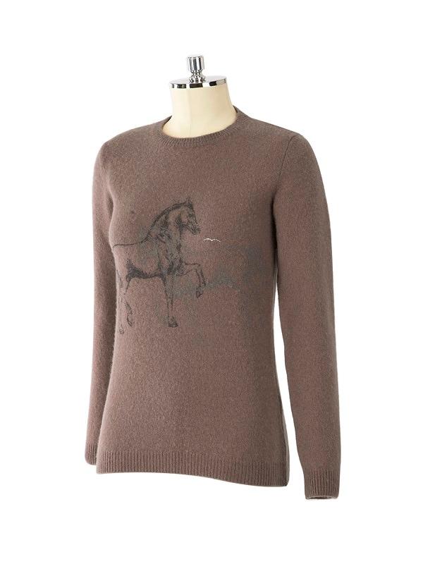 Woman's wool sweater - Sand