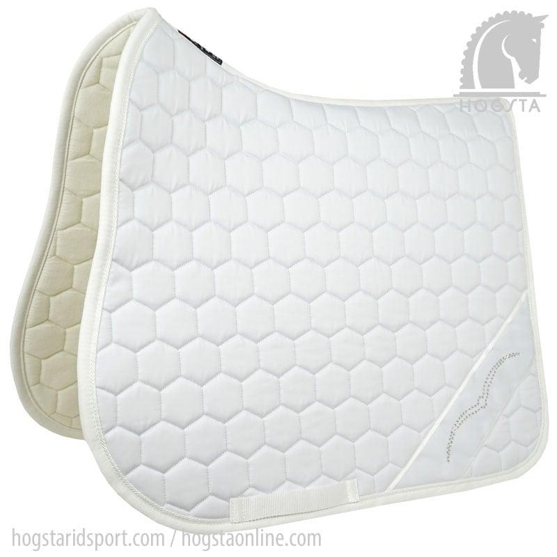 Dressage saddle pad Wato - White
