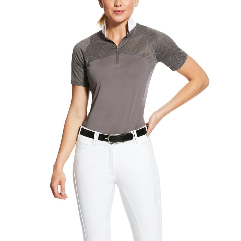 Airway Show Shirt - Plum Grey
