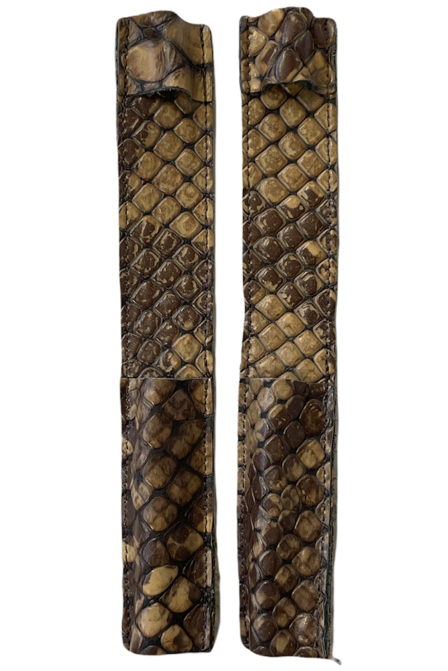 Celeris Spur Protectors - Brown Croc
