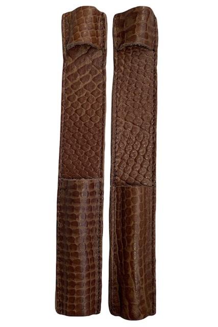 Celeris Spur Protectors - Brown Iguana