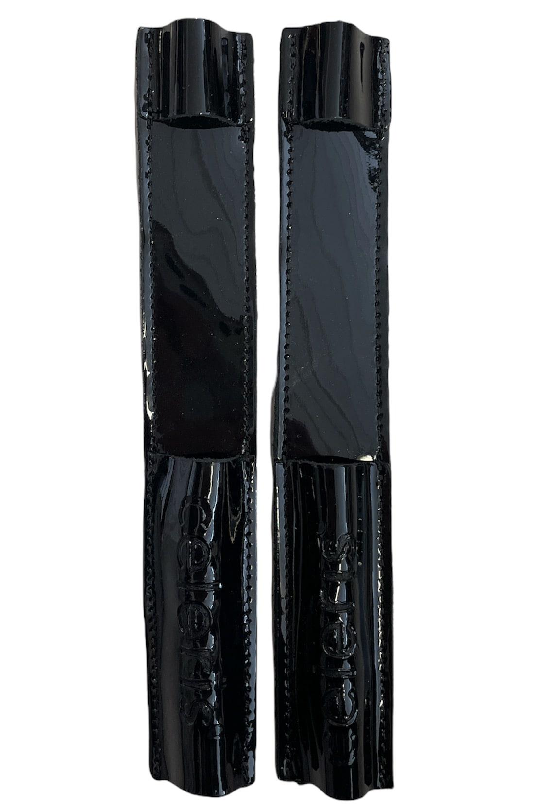Celeris Spur Protectors - Patent Black