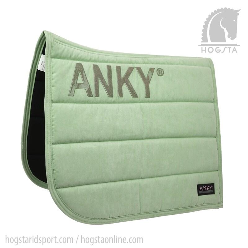 Ljusgrönt schabrak från Anky. Hogsta Ridsport.