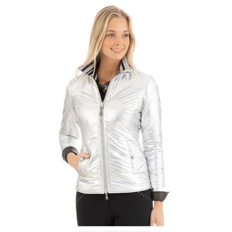 Jacket Reversible - Silver/Black