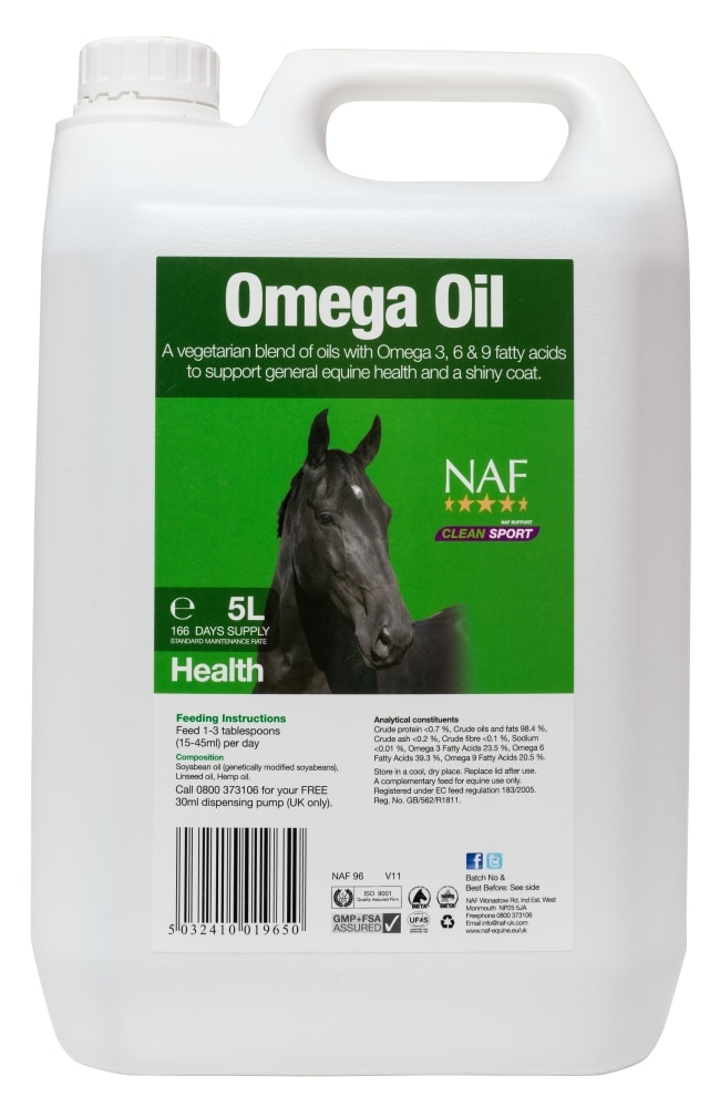 Omega-olja - 5 liter- NAF