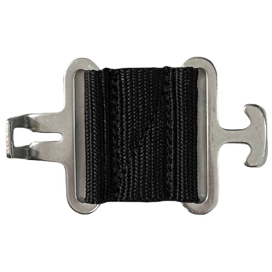 Chest extender T-hook - Black