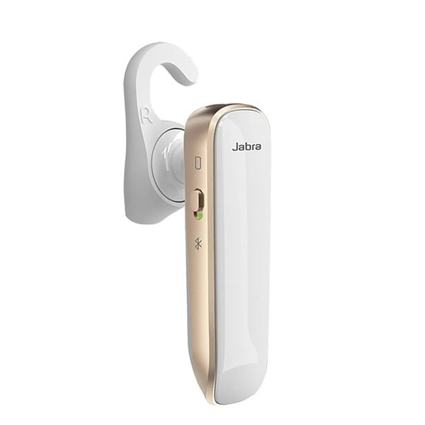 Jabra Boost Bluetooth headset i vitt Hogsta Ridsport.