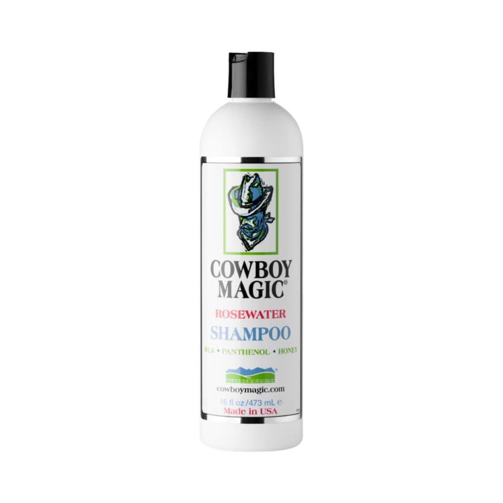 Rosewater Shampoo från Cowboy Magic. Hogsta Ridsport.