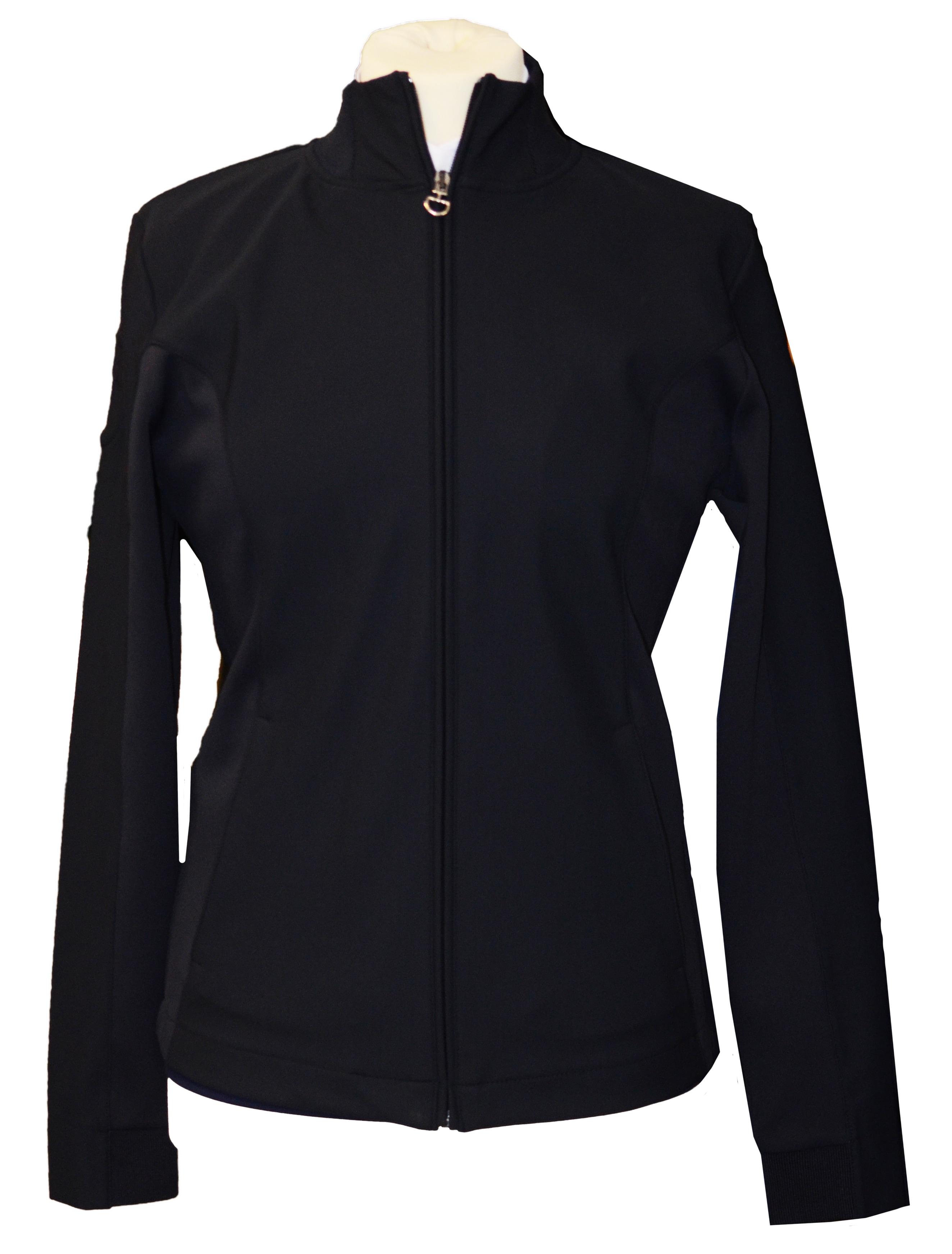 Jersey Zip Sweatshirt - Black