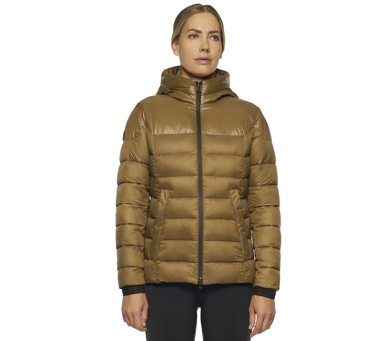 CT Puffer Jacket - Camel