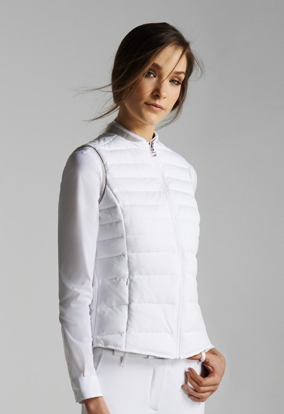 Quilted Piquet Body Warmer