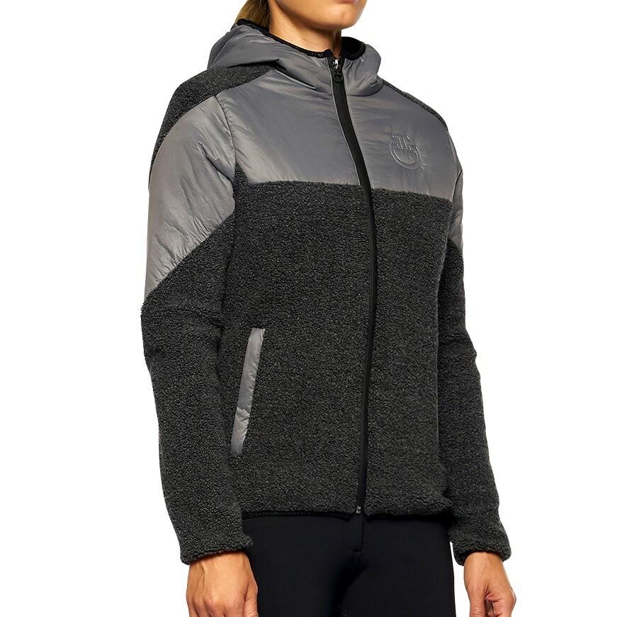 Sherpa Fleece Jacket - Black