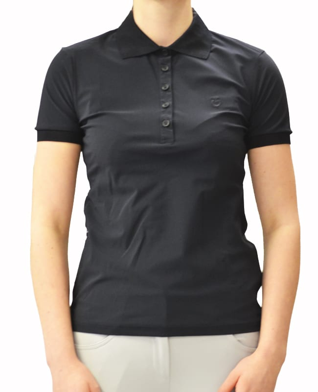 Perforated Jersey Polo