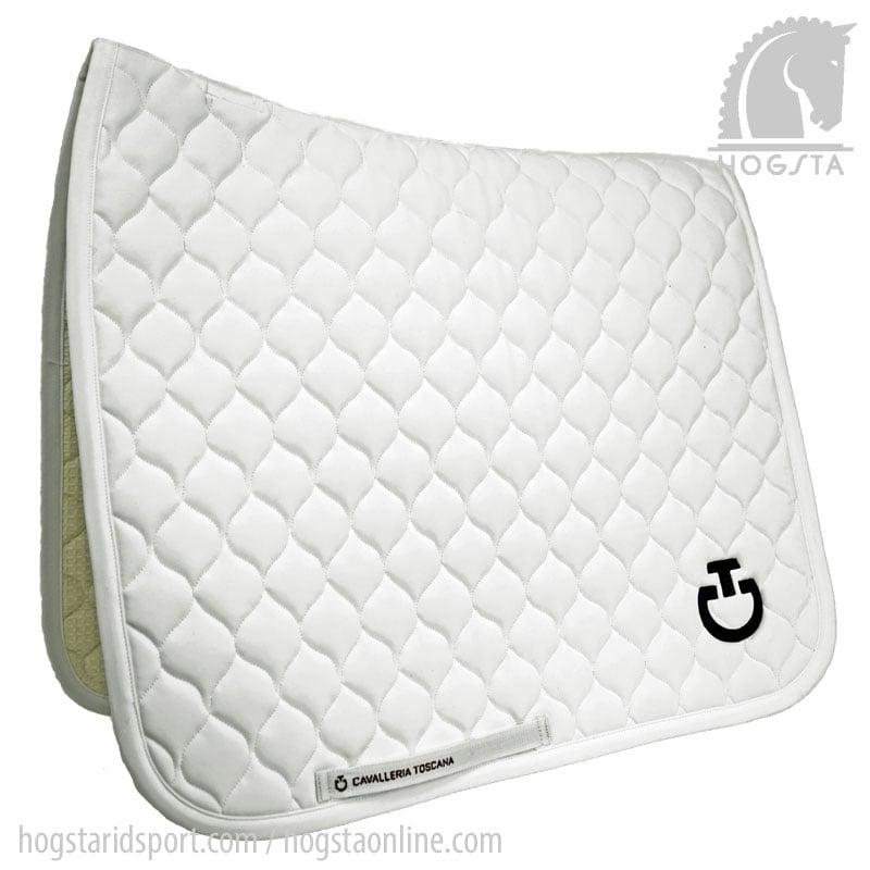 Cavalleria Toscana Dressage Saddle Pad - White