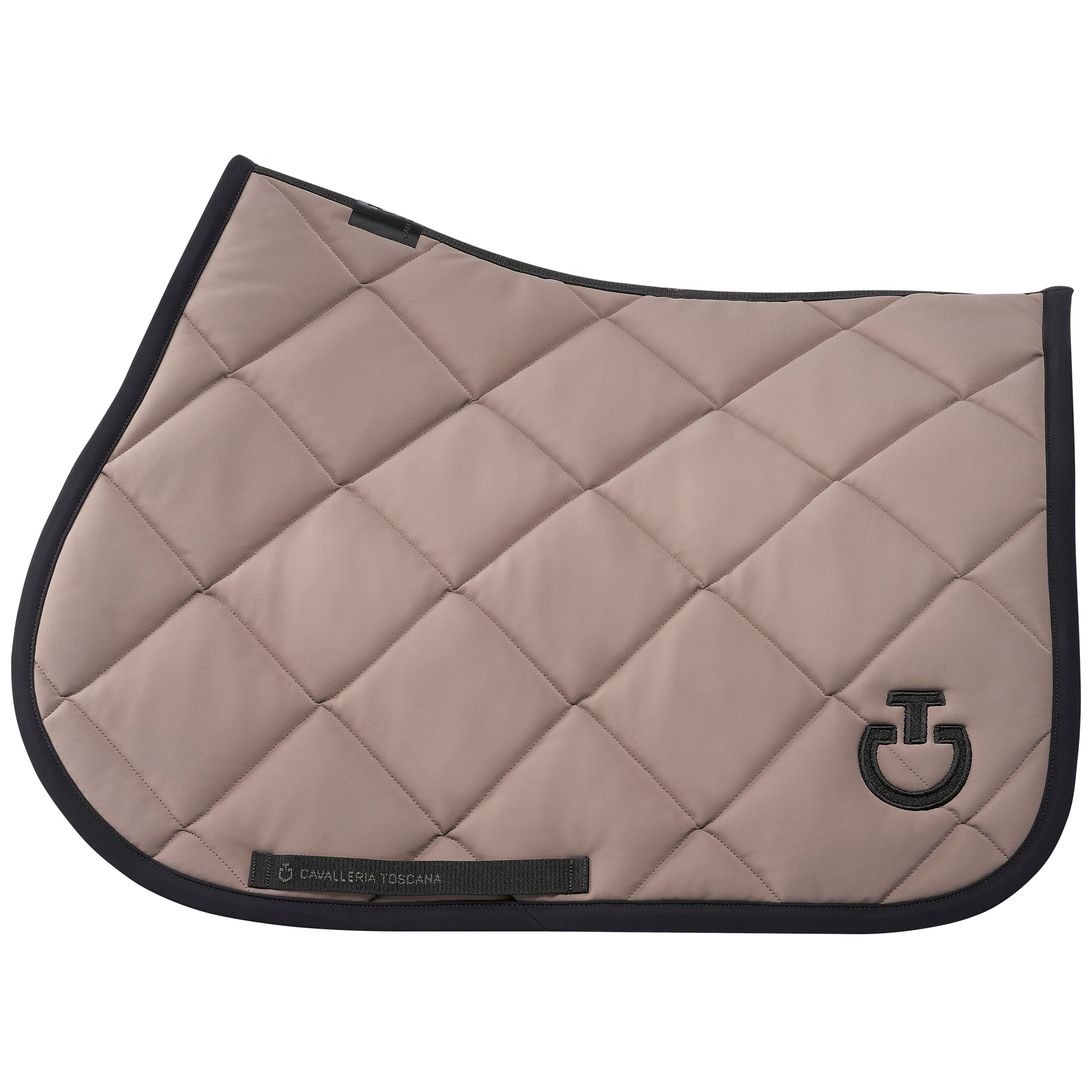 DQ Jersey Jumping Saddle Pad - Beige