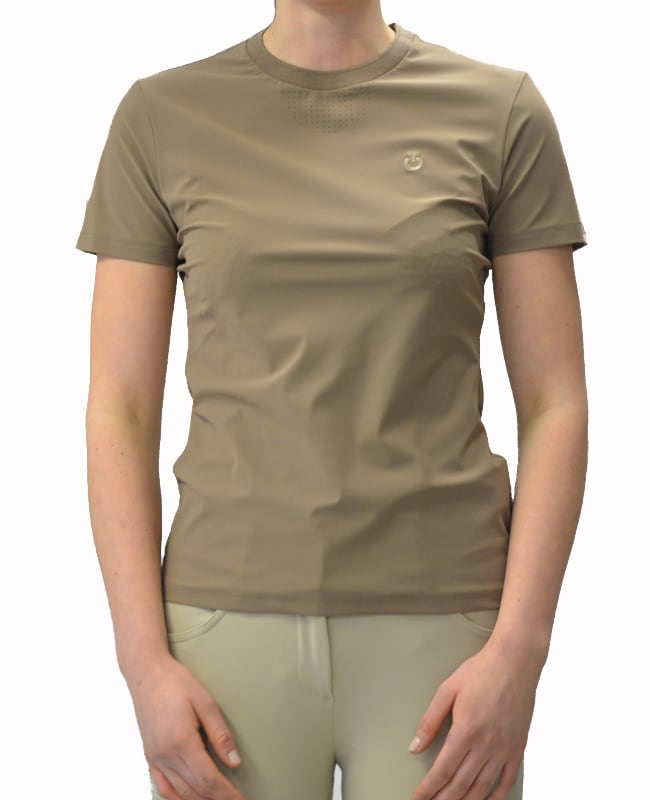 Perforated Jersey T-Shirt