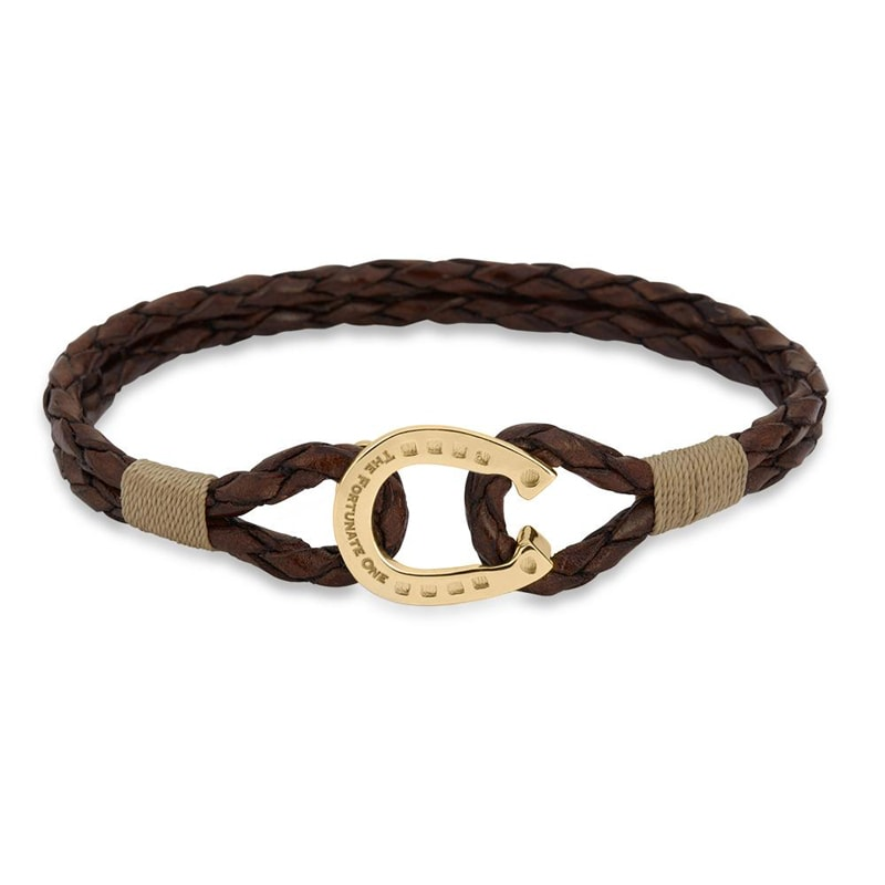 Bracelet double - Clydesdale/Gold