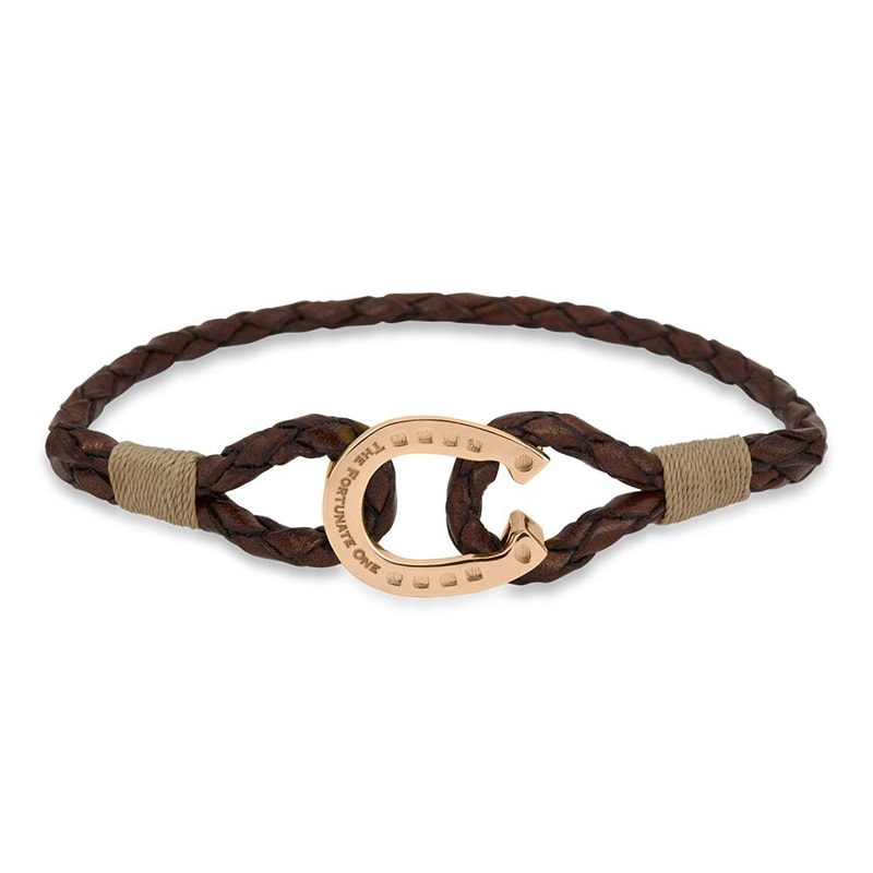Bracelet Single - Clydesdale/Rose gold