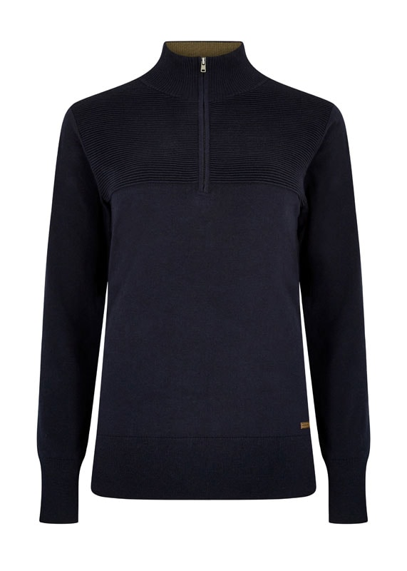 Knitted sweater Carroll - Navy