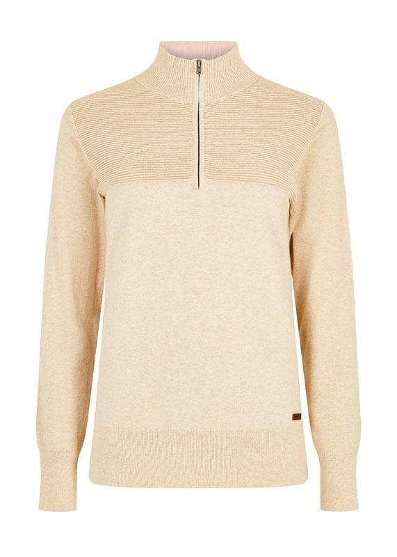 Knitted sweater Carroll - Oyster