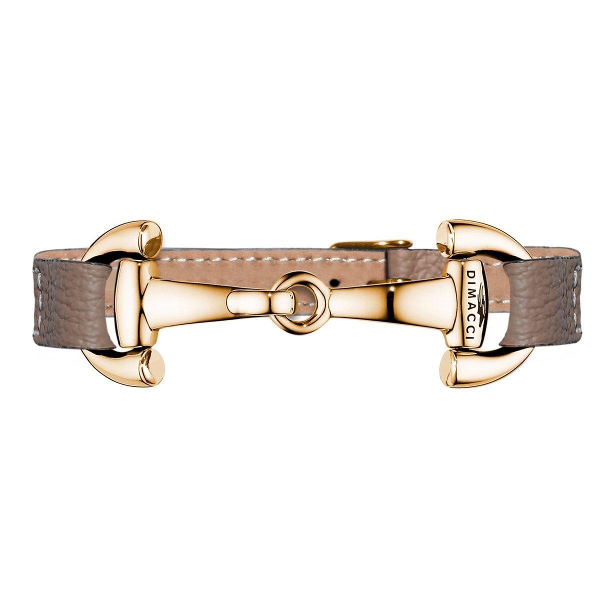 Bracelet ALBA Pure - Taupe/Gold