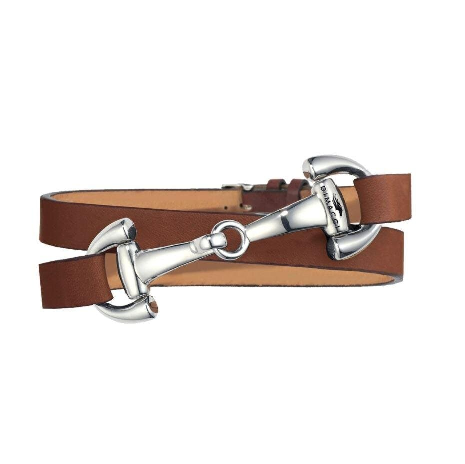 Bracelet Ingrids Favorit - Cognac/Silver