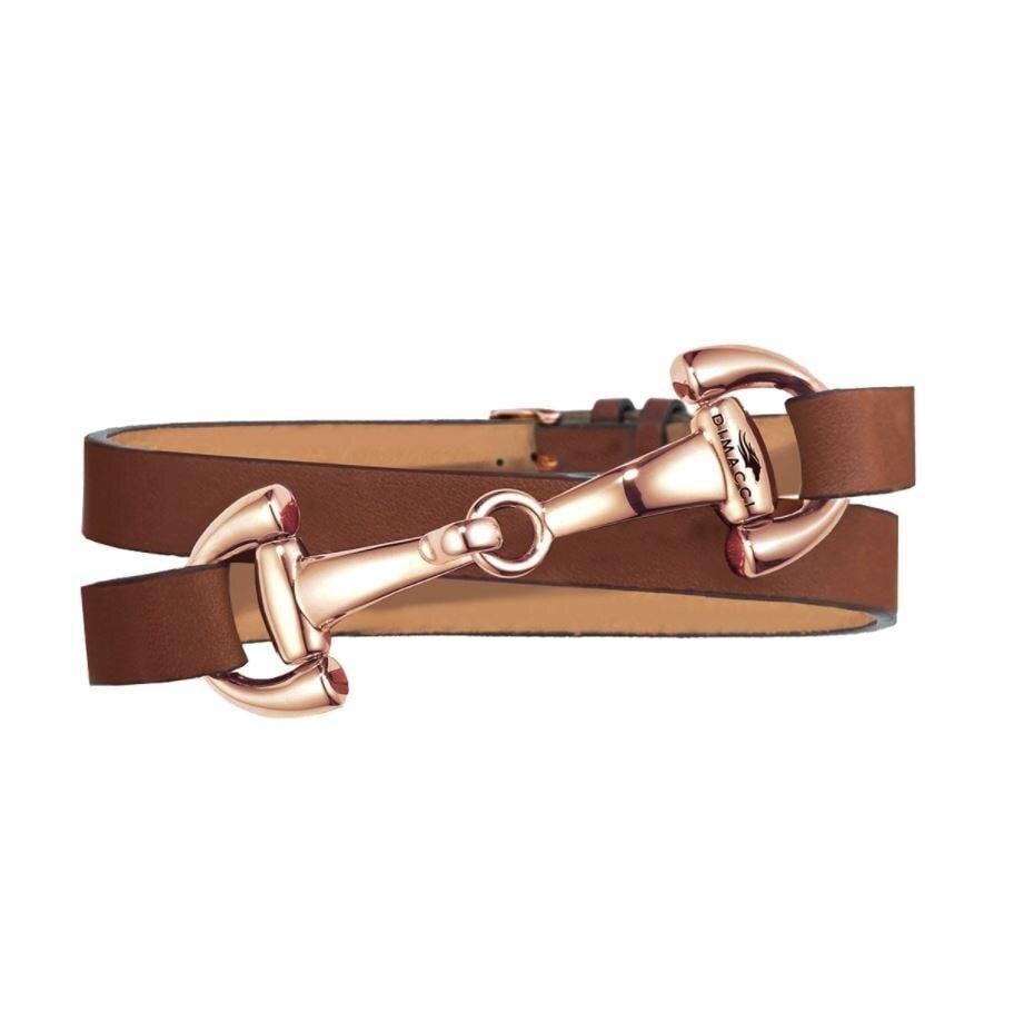 Bracelet Ingrids Favorit - Cognac/Rose gold