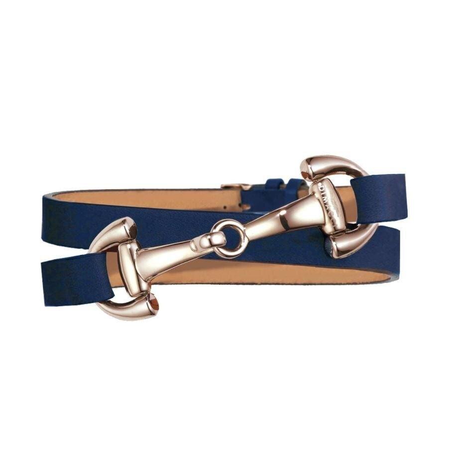 Armband Ingrids Favoriten - Marin/roséguld
