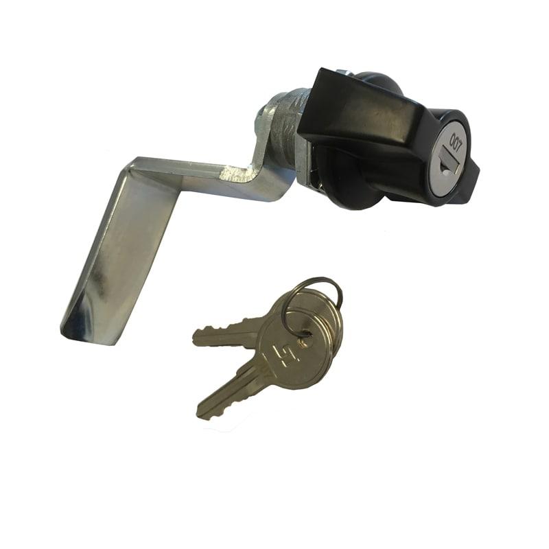 Lock for tack locker