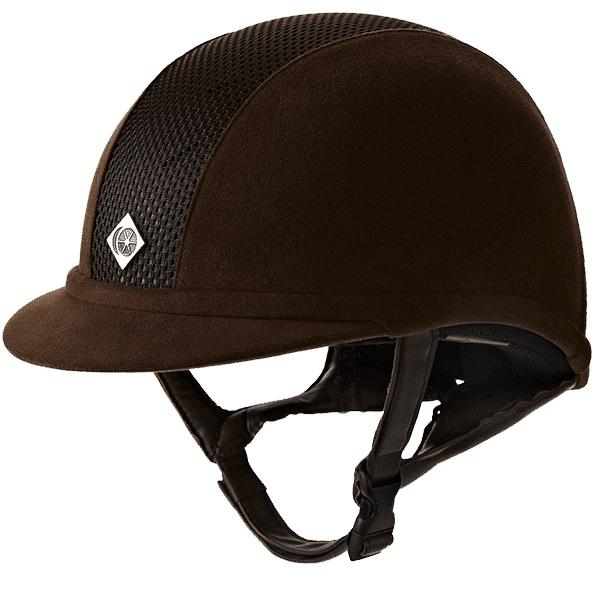 Ayr8 Plus Riding helmet - Brown