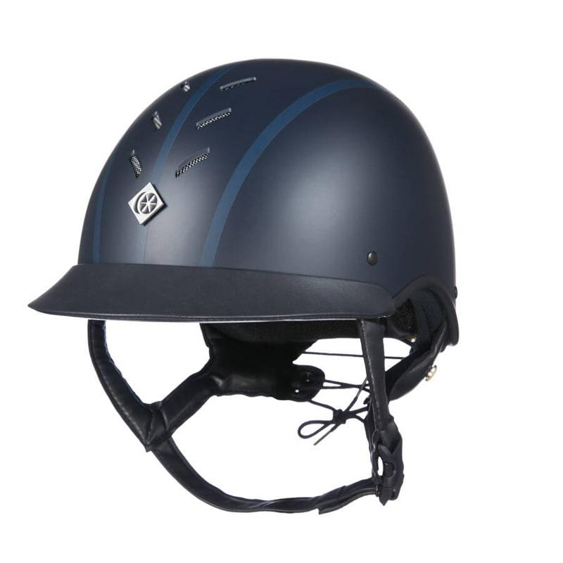 Myps Round Riding helmet - Navy