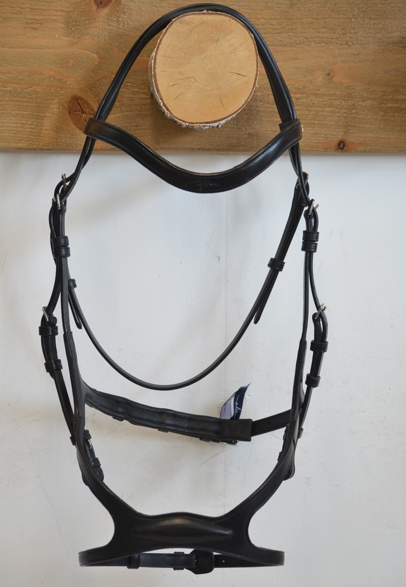 X-fit anatomical bridle S/S - Black/Full