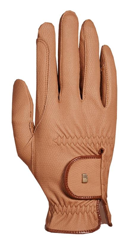 Vesta Roeck-Grip riding glove - Caramel