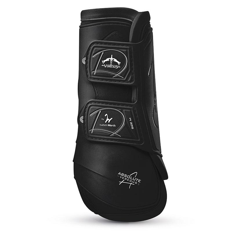 Veredus Absolute Velcro Brushing Boots - Black