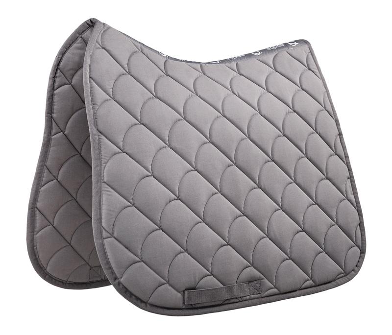 Dressage saddle pad - Grey