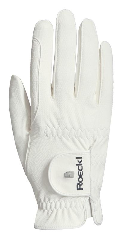 Riding Glove Roeck-Grip Pro - White