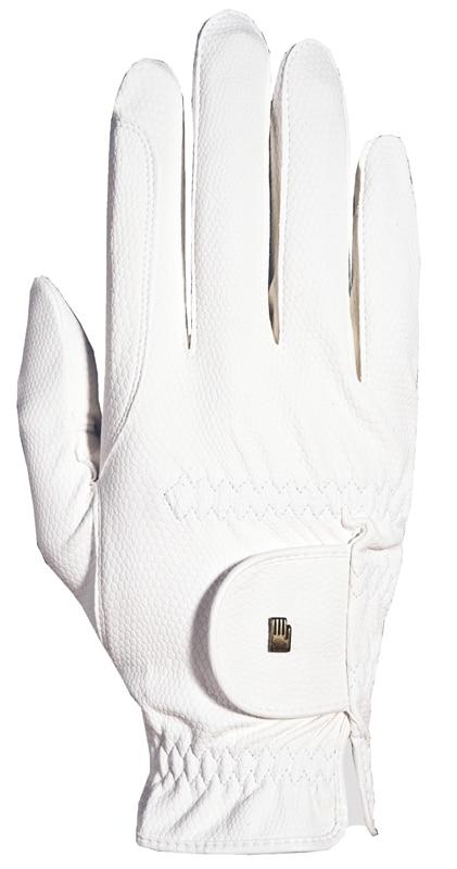Vesta Roeck-Grip riding glove - White