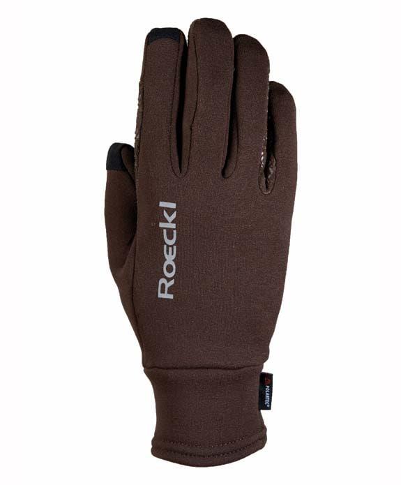 Weldon Polartec Riding Gloves - Mocha