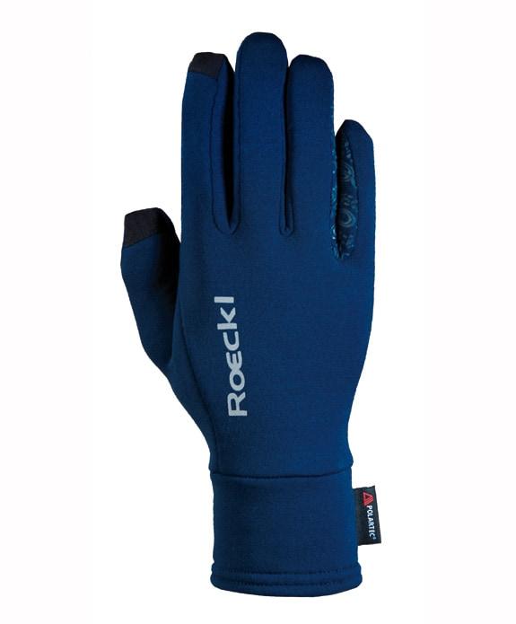 Weldon Polartec Riding Gloves - Navy